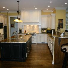 Traditional Kitchen by Sentinel Builders