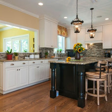 Traditional Kitchen by Nolan Painting Inc.