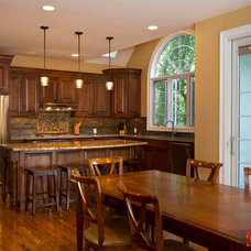 Traditional Kitchen by Cazillo Photography