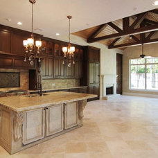 Traditional Kitchen by Gabay Custom Builders, INC
