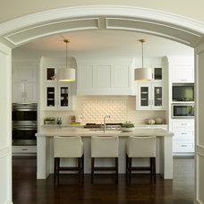 Transitional Kitchen by Reynolds Architecture- Design & Construction