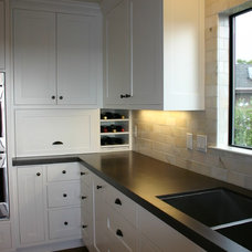 Contemporary Kitchen Countertops by Robertson Builders