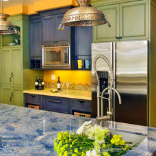 Eclectic Kitchen by Universal Developing