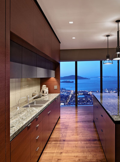 Moderne Køkken by Zack|de Vito Architecture + Construction