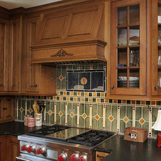 Eclectic Kitchen by Tile Art Ceramic & Stone