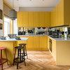 24 Brilliantly Bold Yellow Kitchens