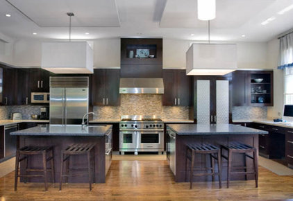 Transitional Kitchen by Carla 1 Design