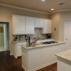 Traditional Kitchen by CertaPro Painters Richardson TX
