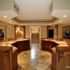 Contemporary Kitchen by Daniel DeVol Custom Builder