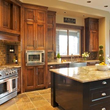 Interiors for a new custom home