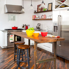 Eclectic Kitchen by Jeff Herr Photography