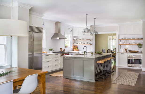 Transitional Kitchen by Jeff Herr Photography