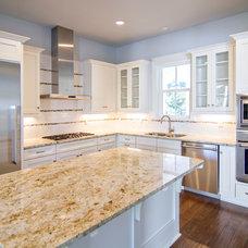 Beach Style Kitchen by Glenn Layton Homes