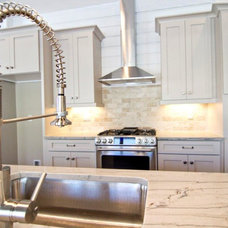 Beach Style Kitchen by Glenn Layton Homes