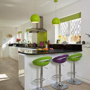 Green And Purple Kitchen Houzz
