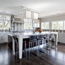 Contemporary Kitchen by Matthew Bolt Graphic Design