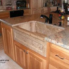 Traditional Kitchen by Interstone Design