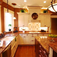 Eclectic Kitchen by JB Interiors, Inc.