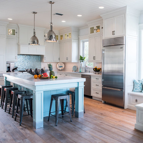 Kitchen Remodel Miami: Our 25 Best Beach Style Home Ideas & Designs