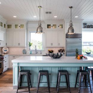 75 Popular Beach Style Kitchen Design Ideas - Stylish Beach Style ...
