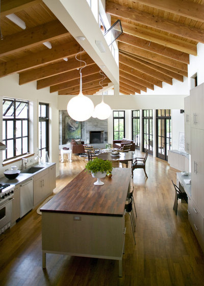 Contemporary Kitchen by Gustave Carlson Design