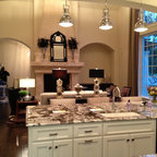 West Palm Beach Vacation Home Traditional Kitchen