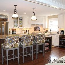 Traditional Kitchen by Mastercraft Design Inc.