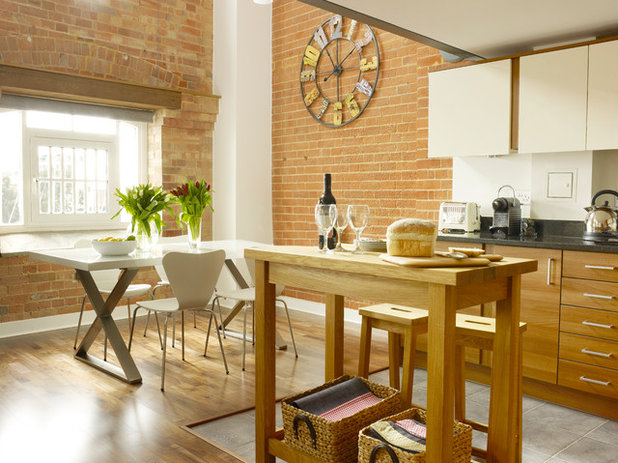 Industrial Kitchen by Rendall & Wright