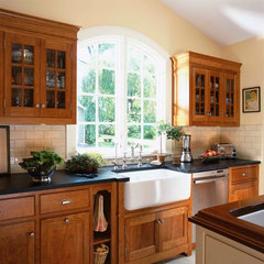 traditional kitchen by Christine Donner Kitchen Design Inc.
