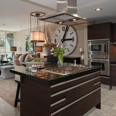 Contemporary Kitchen by JillThomson Design
