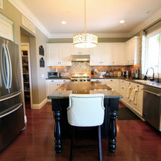 Traditional Kitchen by Nagwa Seif Interior Design