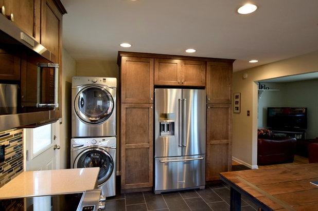 Transitional Kitchen by BKC Kitchen and Bath