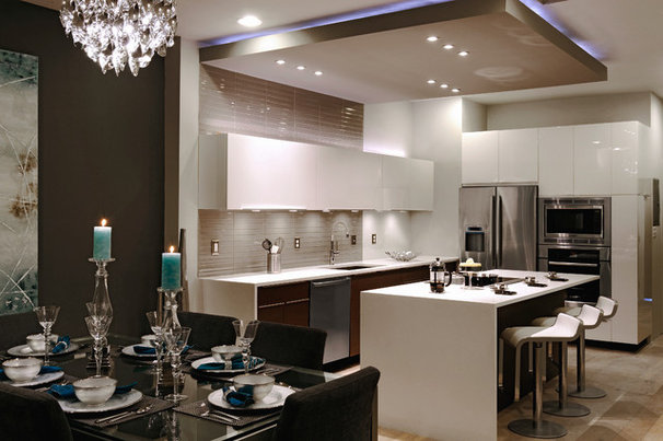 Contemporary Kitchen Irving Street
