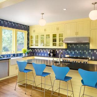 Scandinavian kitchen pictures - Kitchen - scandinavian kitchen idea in Portland
