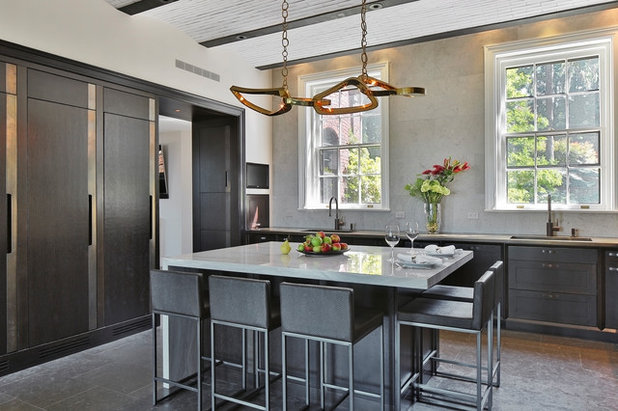 Transitional Kitchen by Dale Blumberg Interiors