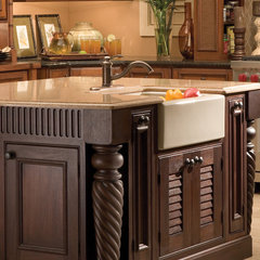tropical kitchen by Dura Supreme Cabinetry