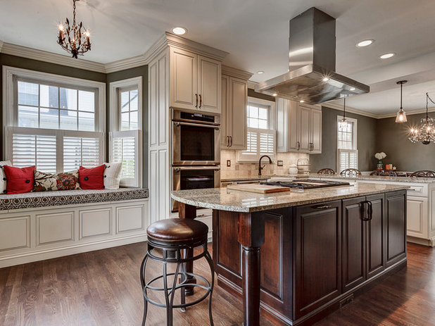 Transitional Kitchen by Reliance Design, Build, Remodel