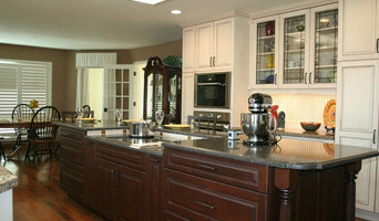 Island Cabinets Showing Lowered Cooktop & Pop-Up Outlet