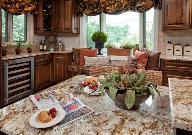 Contemporary Kitchen by Crimson Design Group