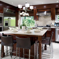 Contemporary Kitchen by Jacki Hunlow Design