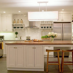traditional kitchen by Kristen Schraven