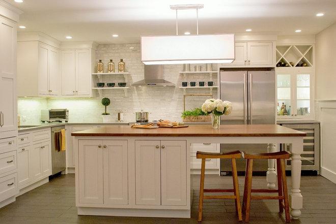 Traditional Kitchen by Kristen Schraven