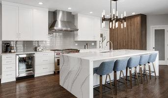 Island Focused Modern Kitchen in Naperville, IL