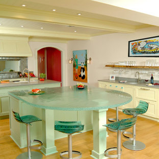 Island Glass Countertop