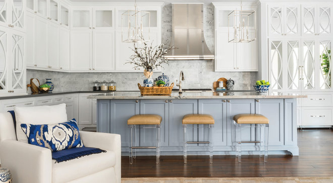 Transitional Kitchen by MMI Design