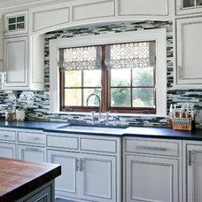 Traditional Kitchen by MW Hunter Custom Design LLC
