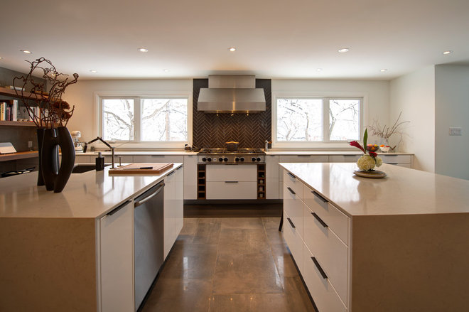 Contemporary Kitchen by Dalton Distinctive Renovations