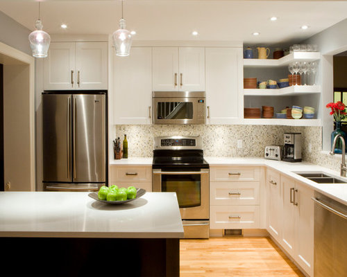 Transitional Kitchen Renovation Astro Design Ottawa