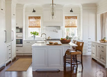 LOVE THIS KITCHEN! WHAT COLOR ARE THE CABINETS AND THE WALLS?