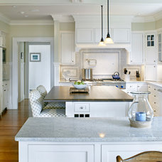 Beach Style Kitchen by Patrick Ahearn Architect